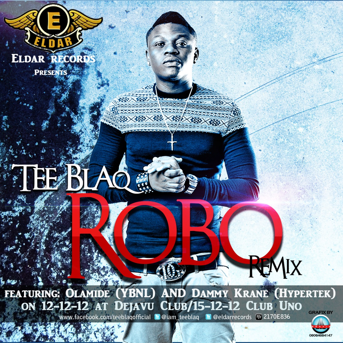 Tee Blaq - ROBO Remix ft. Dammy Krane 'n' Olamide + ROBO STYLE [a PSY cover]