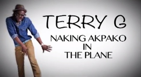 Terry G - NACKING AKPAKO IN THE PLANE [Viral Video] Artwork