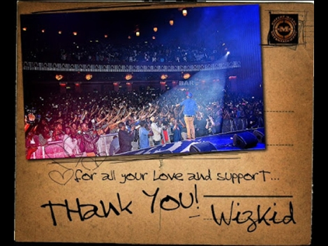 Wizkid - THANK YOU [prod. by Spellz] Artwork | AceWorldTeam.com