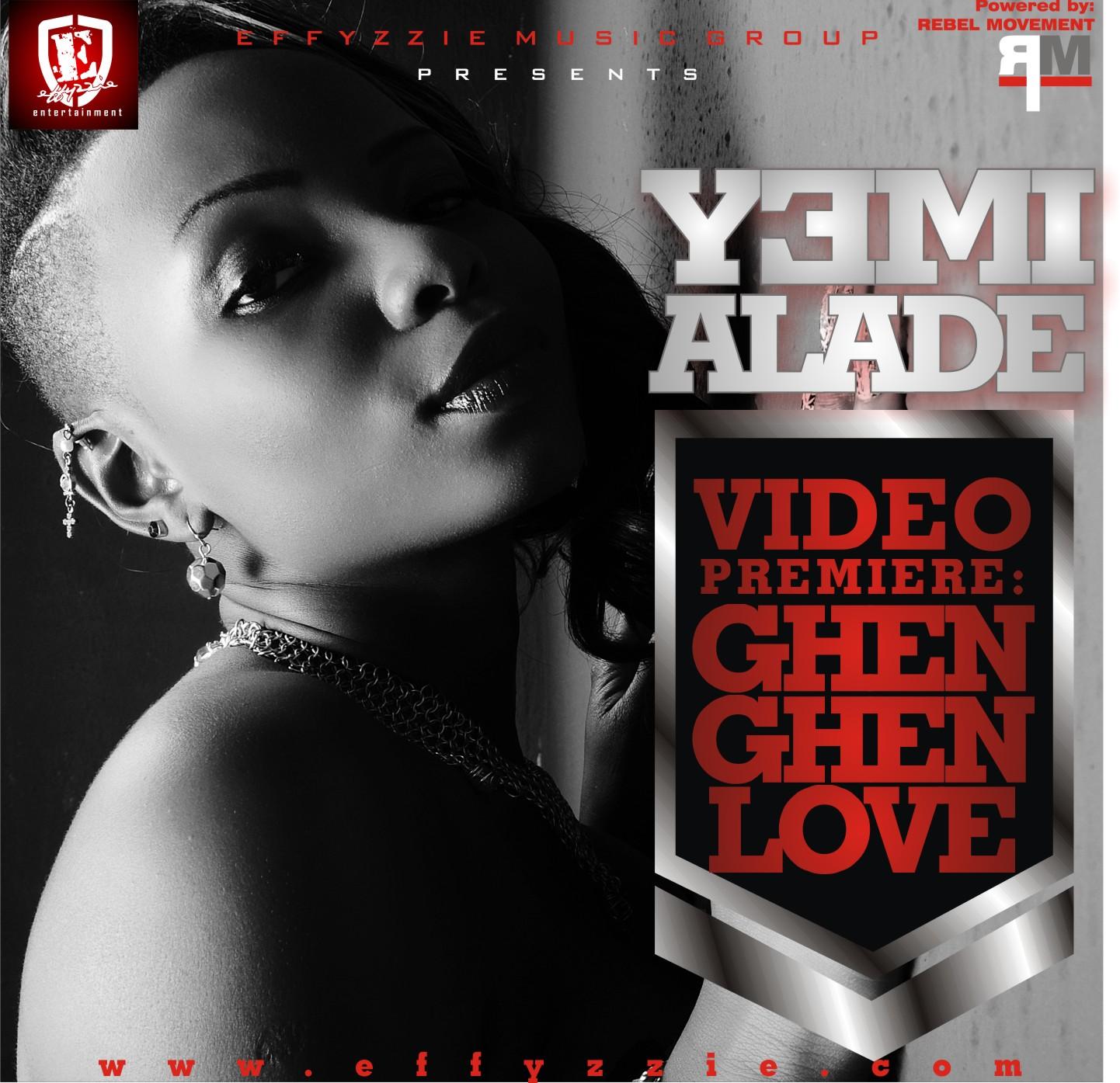 Yemi Alade - GHEN GHEN LOVE [Official Video] Artwork | AceWorldTeam.com