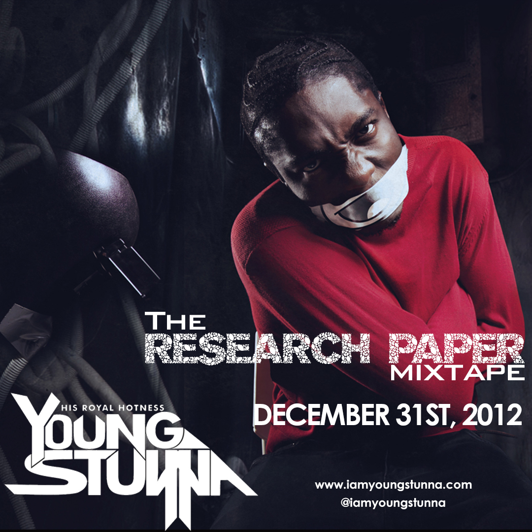 Young Stunna - THE RESEARCH PAPER Artwork | AceWorldTeam.com