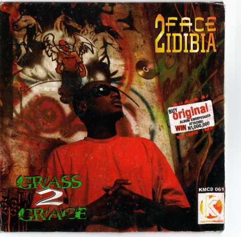 2face Idibia - Grass To Grace Artwork