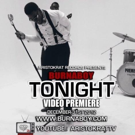 Burna Boy - TONIGHT [Official Video] Artwork