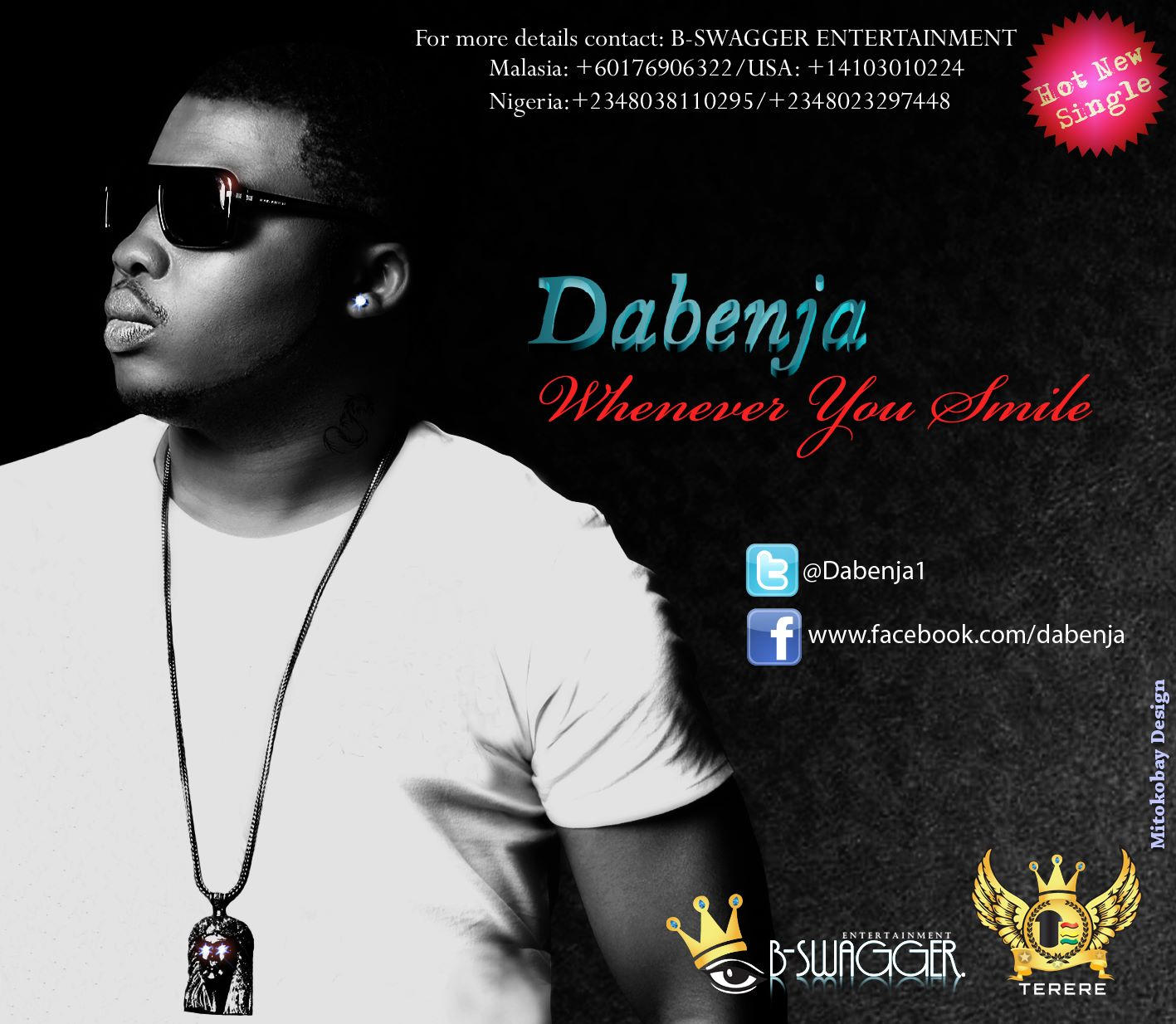 Dabenja - WHENEVER YOU SMILE [prod. by Micah] Artwork | AceWorldTeam.com