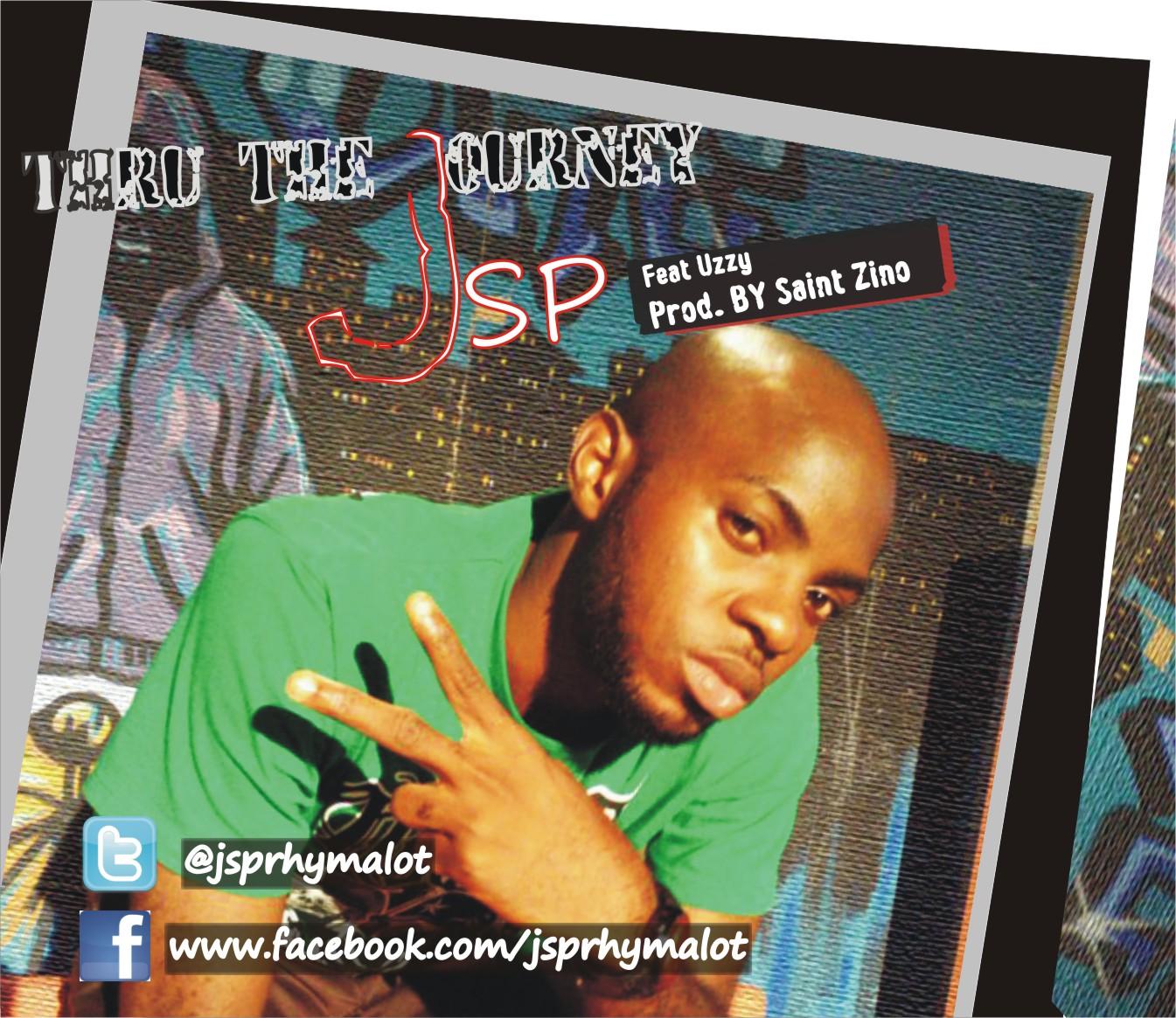 JSP ft. Uzzy - THRU THE JOURNEY [prod. Saint Zino] Artwork | AceWorldTeam.com