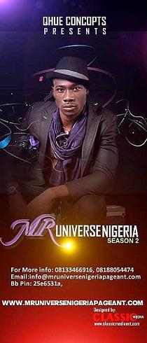 1. Mr. Universe Nigeria 2013
