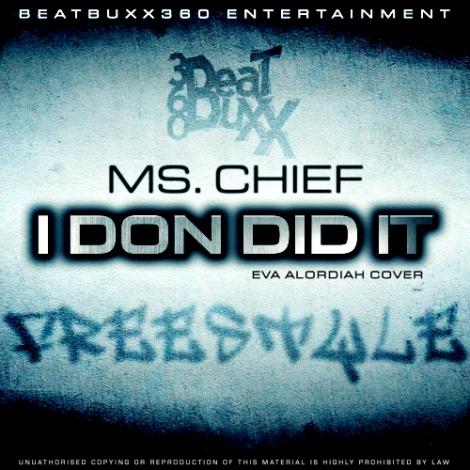 Ms. Chief - I DONE DID IT [an Eva Alordiah cover] Artwork   AceWorldTeam.com