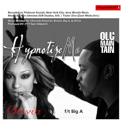 Olu Maintain ft. Olivia & Big A - HYPNOTIZE ME Artwork | AceWorldTeam.com
