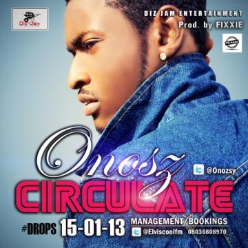 Onosz - CIRCULATE [prod. by Fixxie] Artwork | AceWorldTeam.com