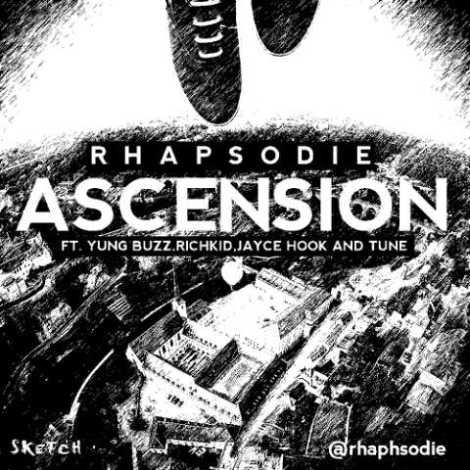 Rhapsodie ft. Yung Buzz, Richkid, Jayce Hooke & Tune - ASCENSION [prod. by Geekbeats] Artwork | AceWorldTeam.com