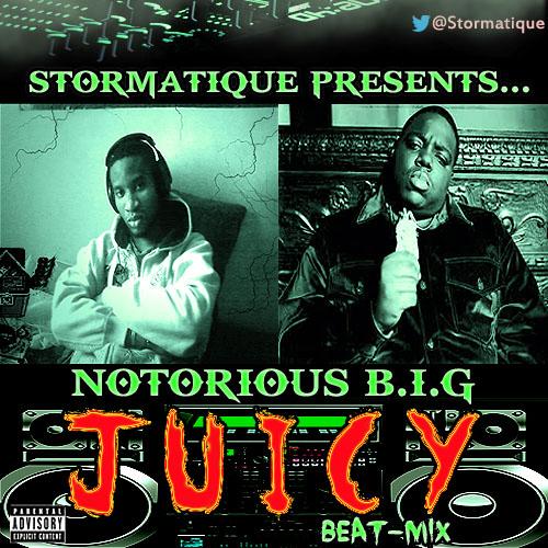 Stormatique presents Notorious B.I.G – JUICY [Stormatique Beat-Mix] Artwork | AceWorldTeam.com