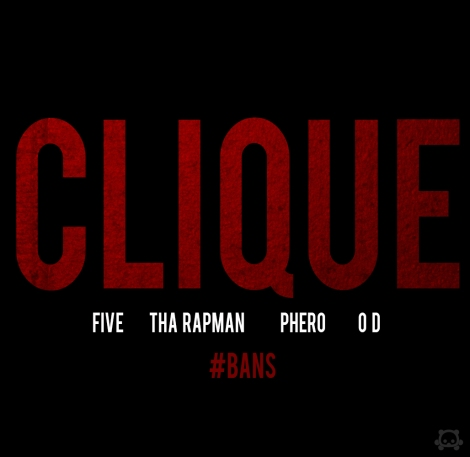 Terry tha Rapman, OverDose 'n' Pherowshuz ft. Five [of The Faculty] - CLIQUE Artwork | AceWorldTeam.com