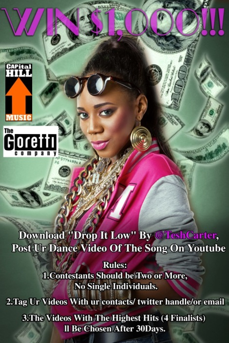 Tesh Carter - DROP IT LOW [rated 18+]