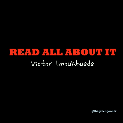 Victor Imoukhuede - READ ALL ABOUT IT [a Professor Green cover] Artwork | AceWorldTeam.com
