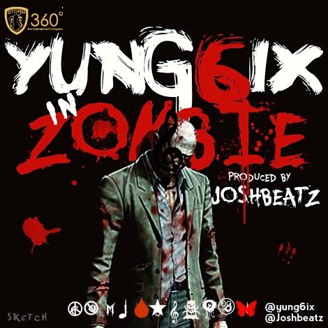 Yung6ix - ZOMBIE [prod. by Joshbeatz] Artwork | AceWorldTeam.com